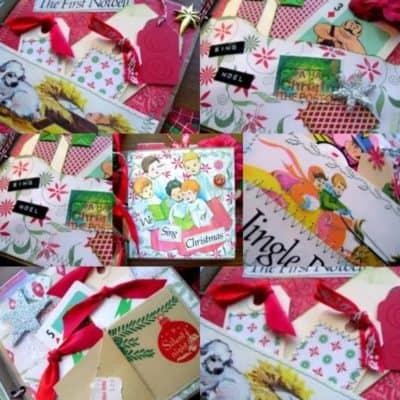 My DIY Christmas Paper Bag Album