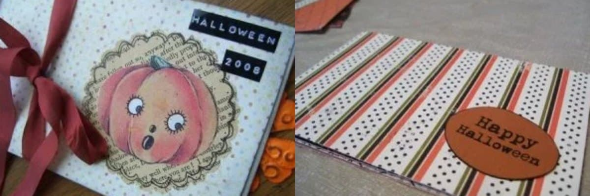 Tutorial #3: Halloween Accordion Books