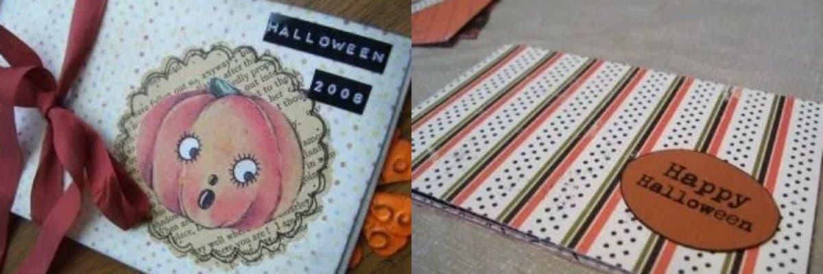 Tutorial #3: Halloween Accordion Books
