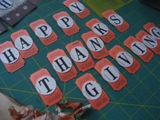 happy thanksgiving ticket banner tutorial