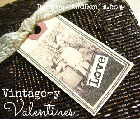 Vintagey Valentines