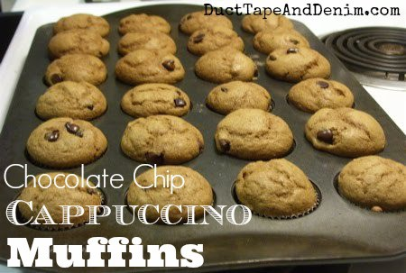 Chocolate Chip Cappuccino Muffins!!!