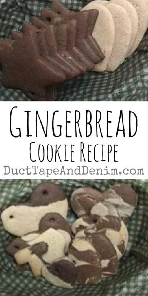 Gingerbread cookie recipe | DuctTapeAndDenim.com