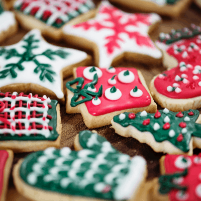 Christmas cookies, SQUARE