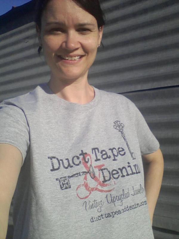 DuctTapeAndDenim.com T-shirt for Antique Alley
