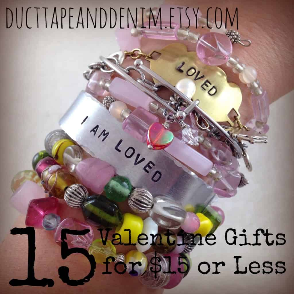 15 Valentine's Day Gifts for $15 or Less | DuctTapeAndDenim.com