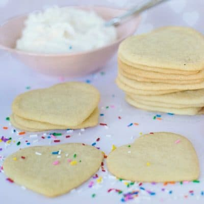 Valentine's Day Conversation Heart Sugar Cookies Recipe