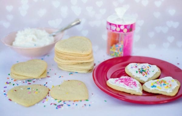valentine sugar cookies, Valentines Day Cookies