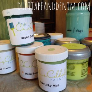 Cece Caldwell Chalk and Clay Paints | DuctTapeAndDenim.com