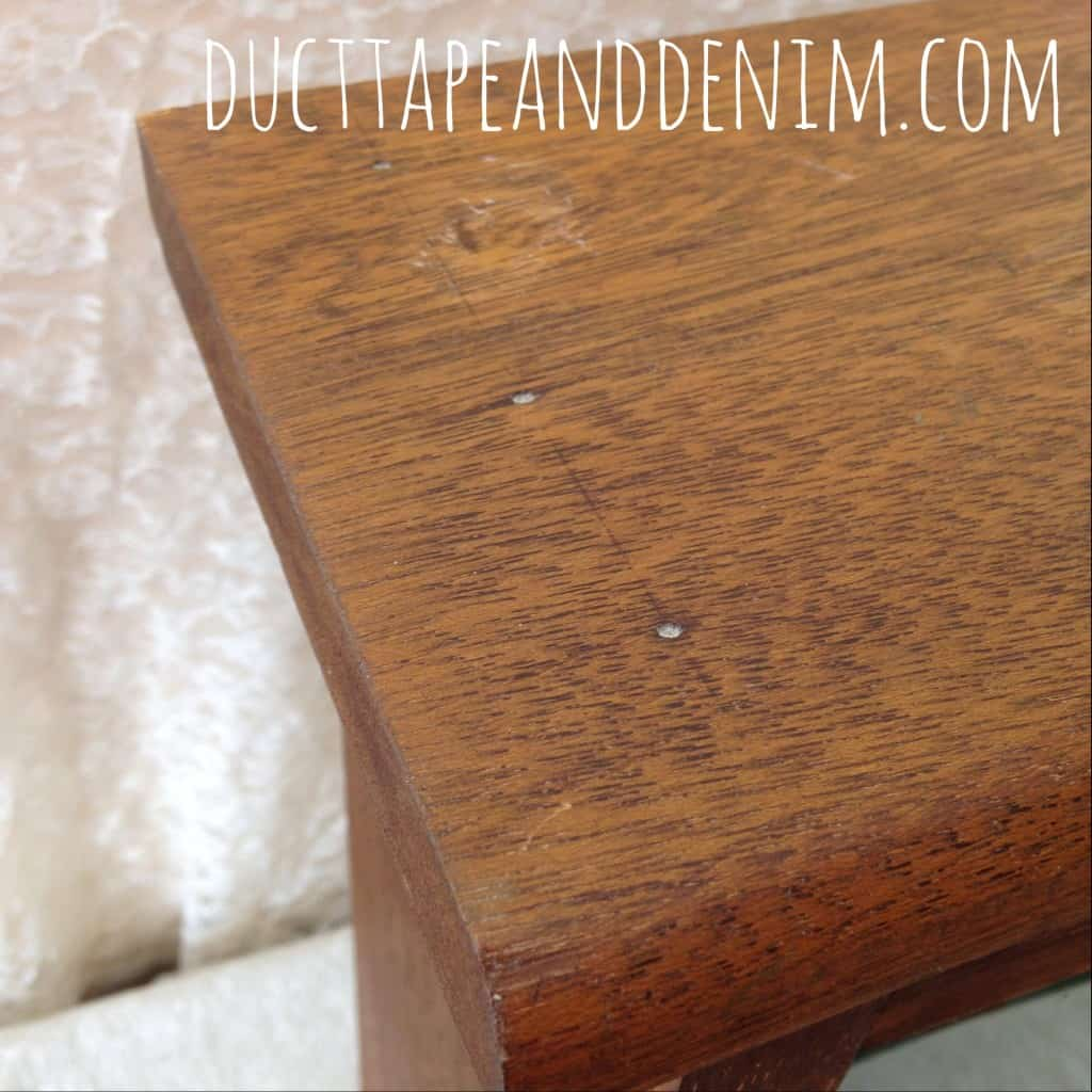 Handmade wooden jewelry cabinet | DuctTapeAndDenim.com