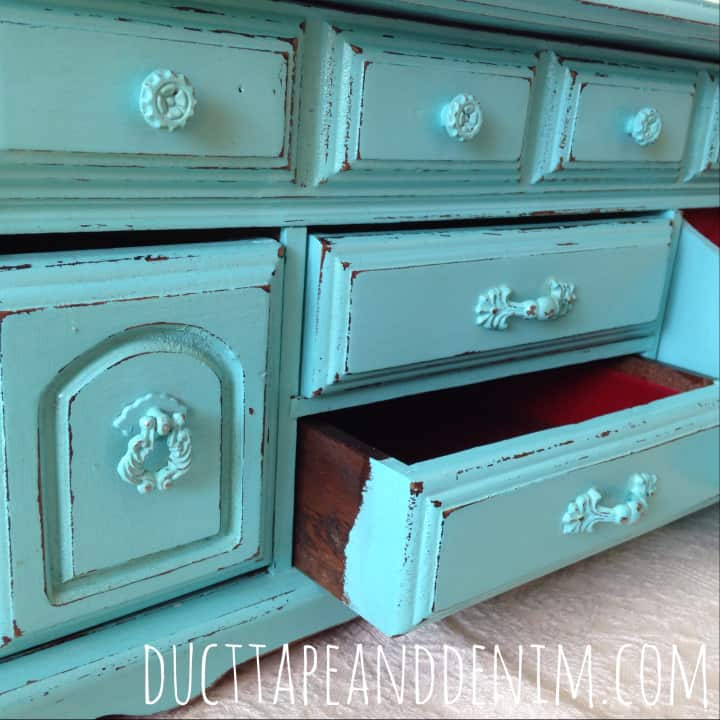 Painting Jewelry Boxes With Homemade Chalk Paint An Easy