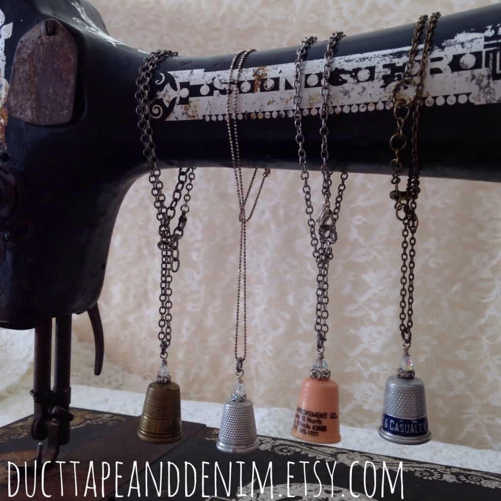 Vintage Singer Sewing Machine | DuctTapeAndDenim.com
