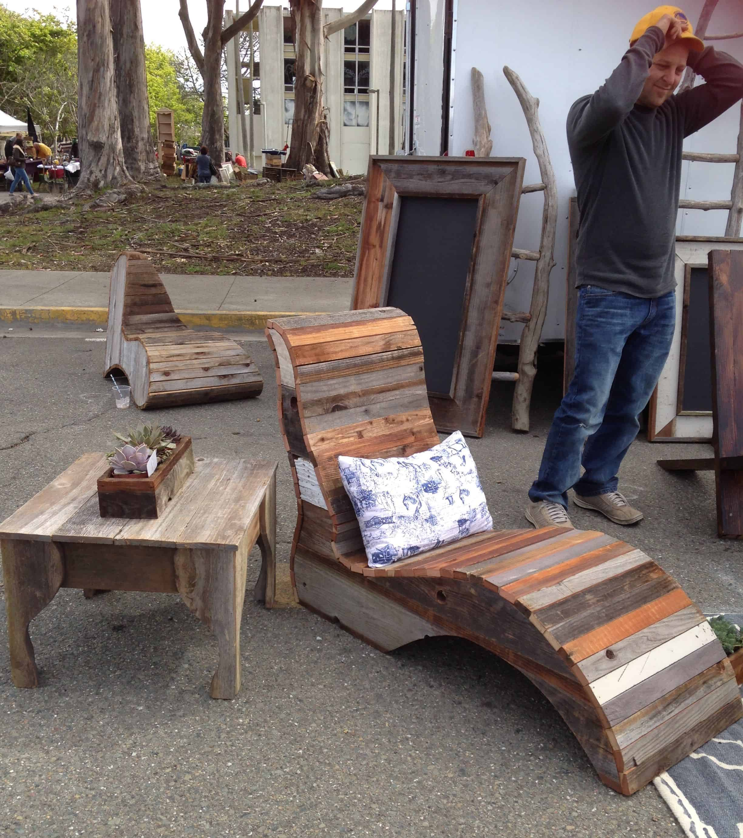 Reuse Reduce Recycle at Treasure Island Flea