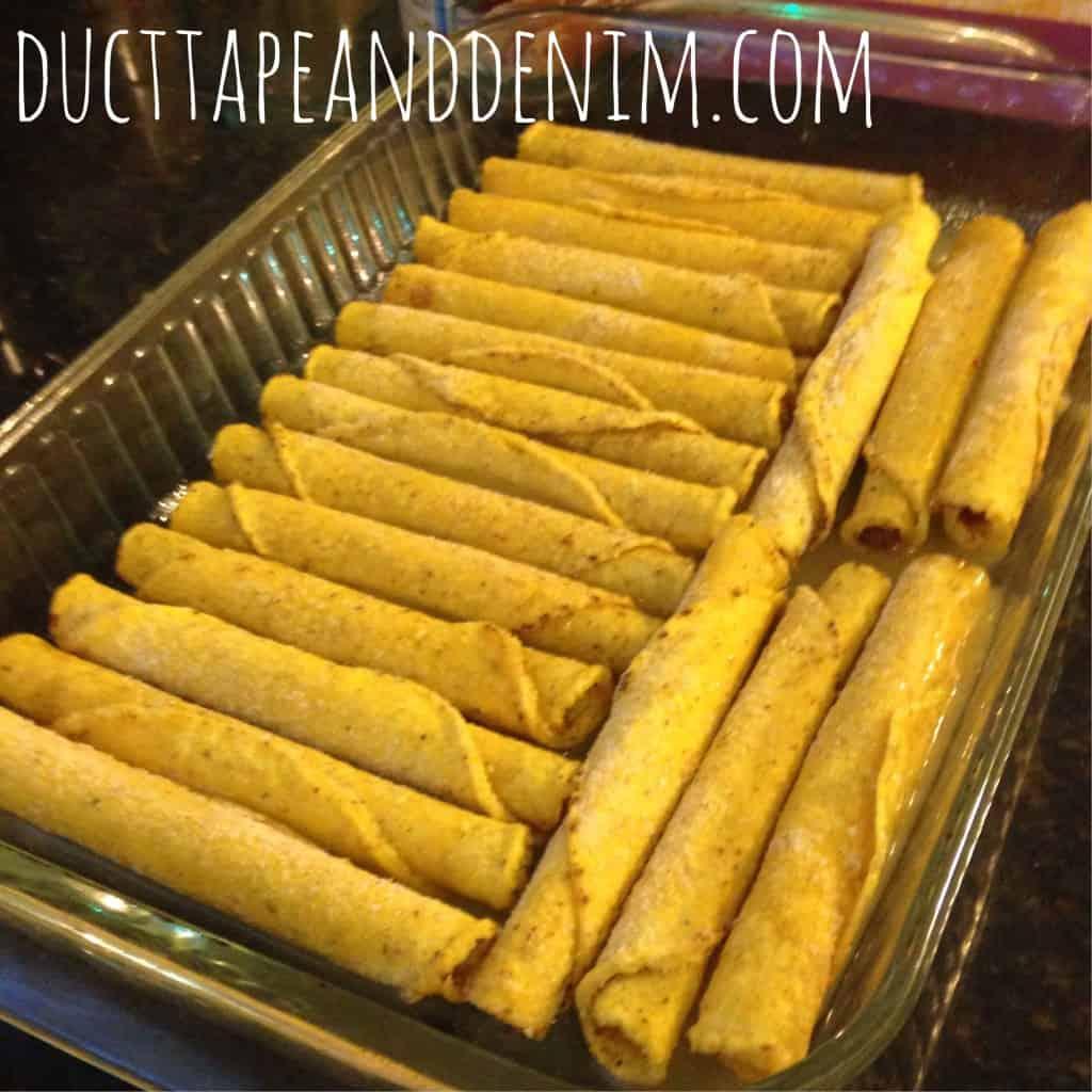 Quick and easy enchilada recipe | DuctTapeAndDenim.com