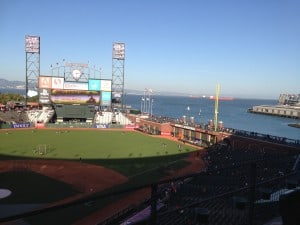 AT&T Park in San Francisco, home of the Giants baseball team | DuctTapeAndDenim.com