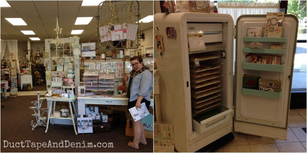 Paradise Scrapbook Boutique in Chico, California | DuctTapeAndDenim.com