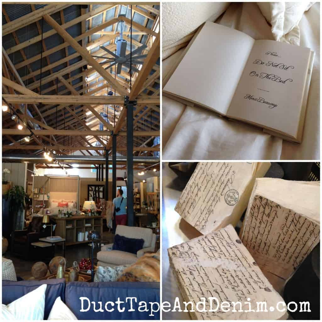 Shopping at Nantucket Home store in Chico, California | DuctTapeAndDenim.com