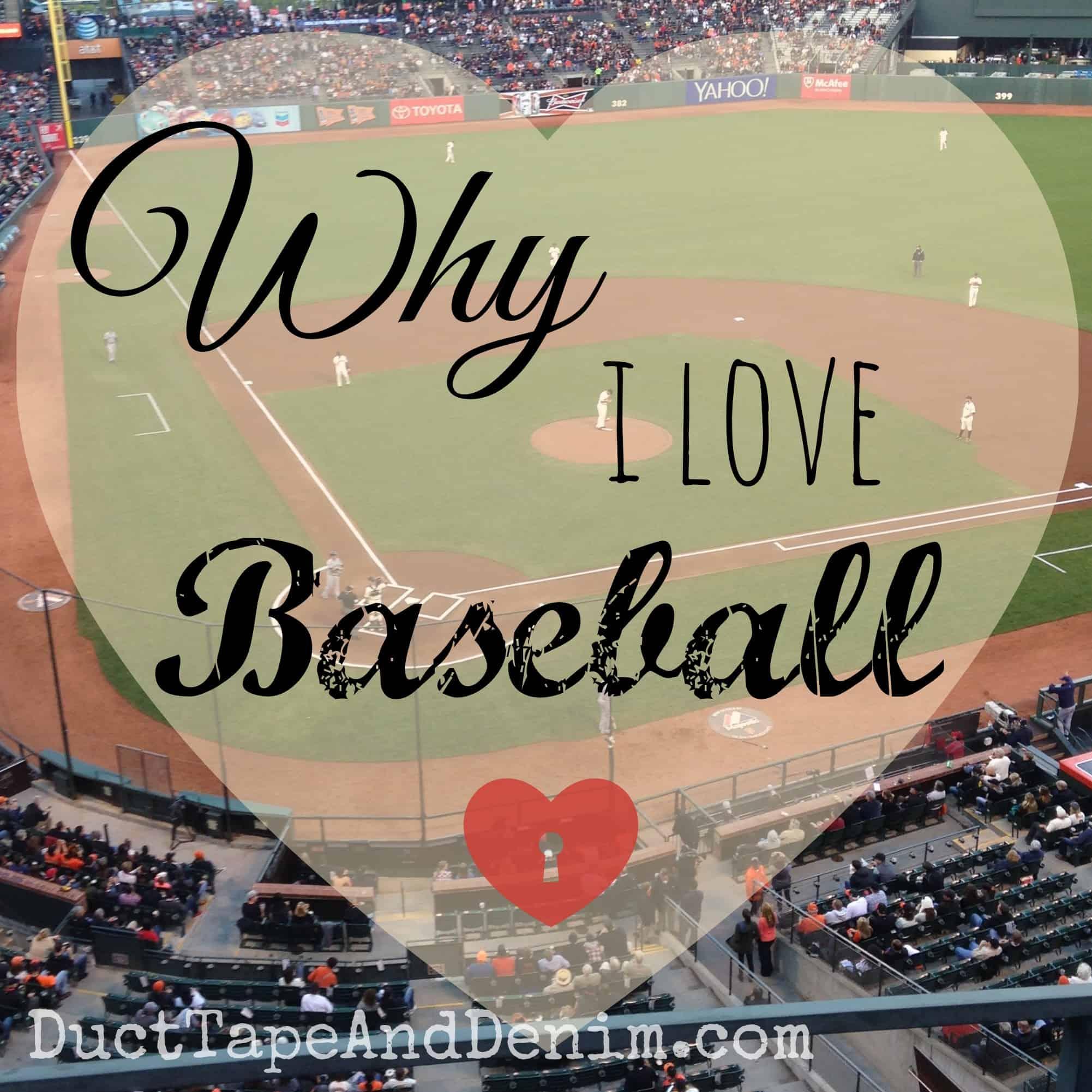 Thanksgiving Football Games >> Why I Love Baseball