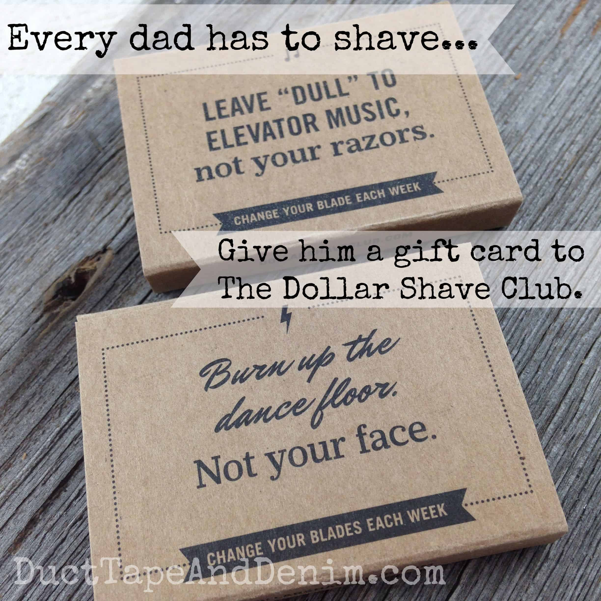 Last Minute Father's Day Gift Idea – Dollar Shave Club