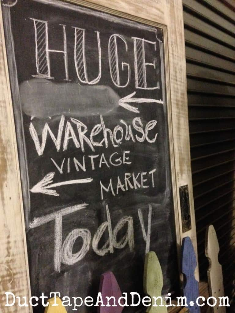 Paris Flea Market warehouse vintage market sale in Livermore, California | DuctTapeAndDenim.com