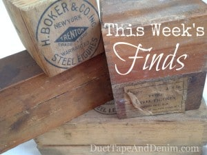 This week's finds from vintage flea markets, garage sales, and antique shows | DuctTapeAndDenim.com