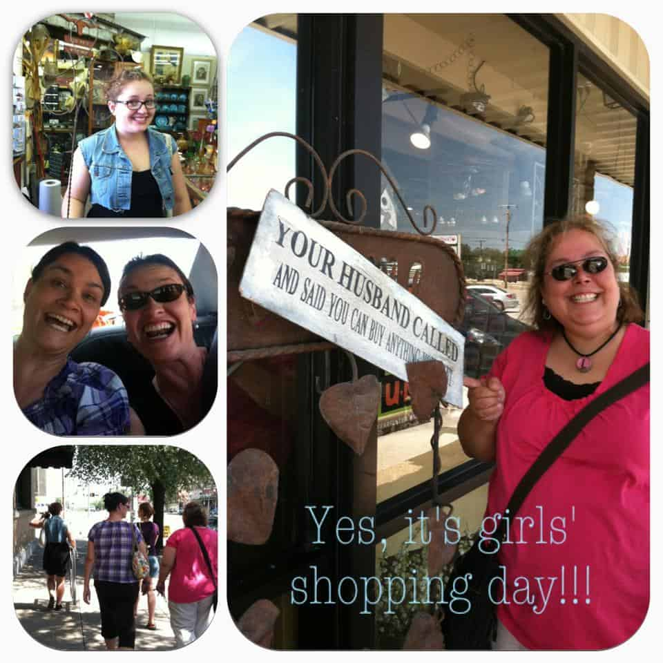 Our girls' shopping day in Glen Rose, Texas | DuctTapeAndDenim.com
