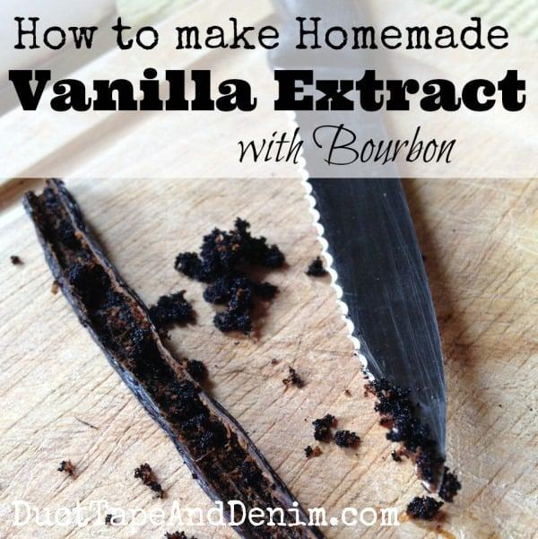 How to Make Homemade Vanilla | DuctTapeAndDenim.com