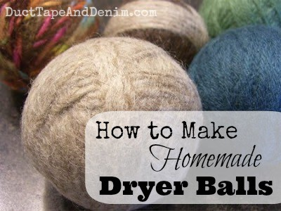 How to Make Homemade Dryer Balls