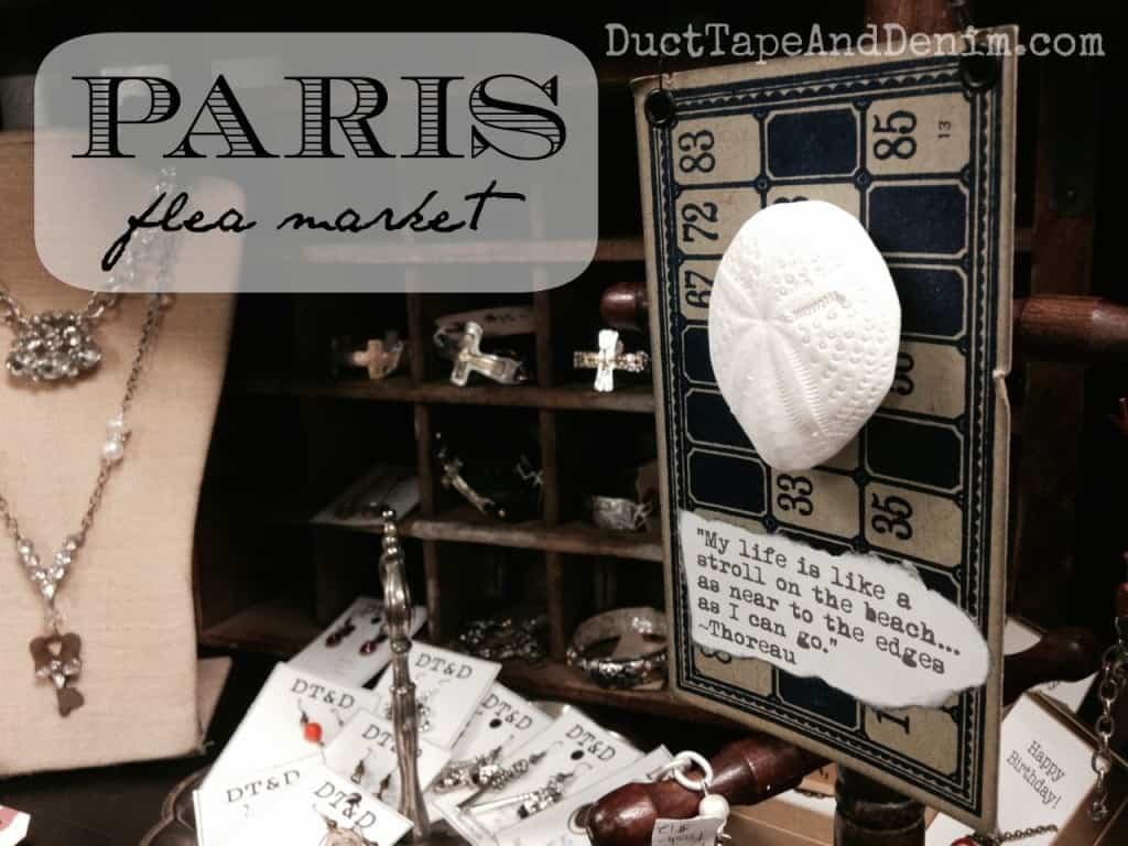 Paris Flea Market in Livermore, California, July 2014 sale | DuctTapeAndDenim.com