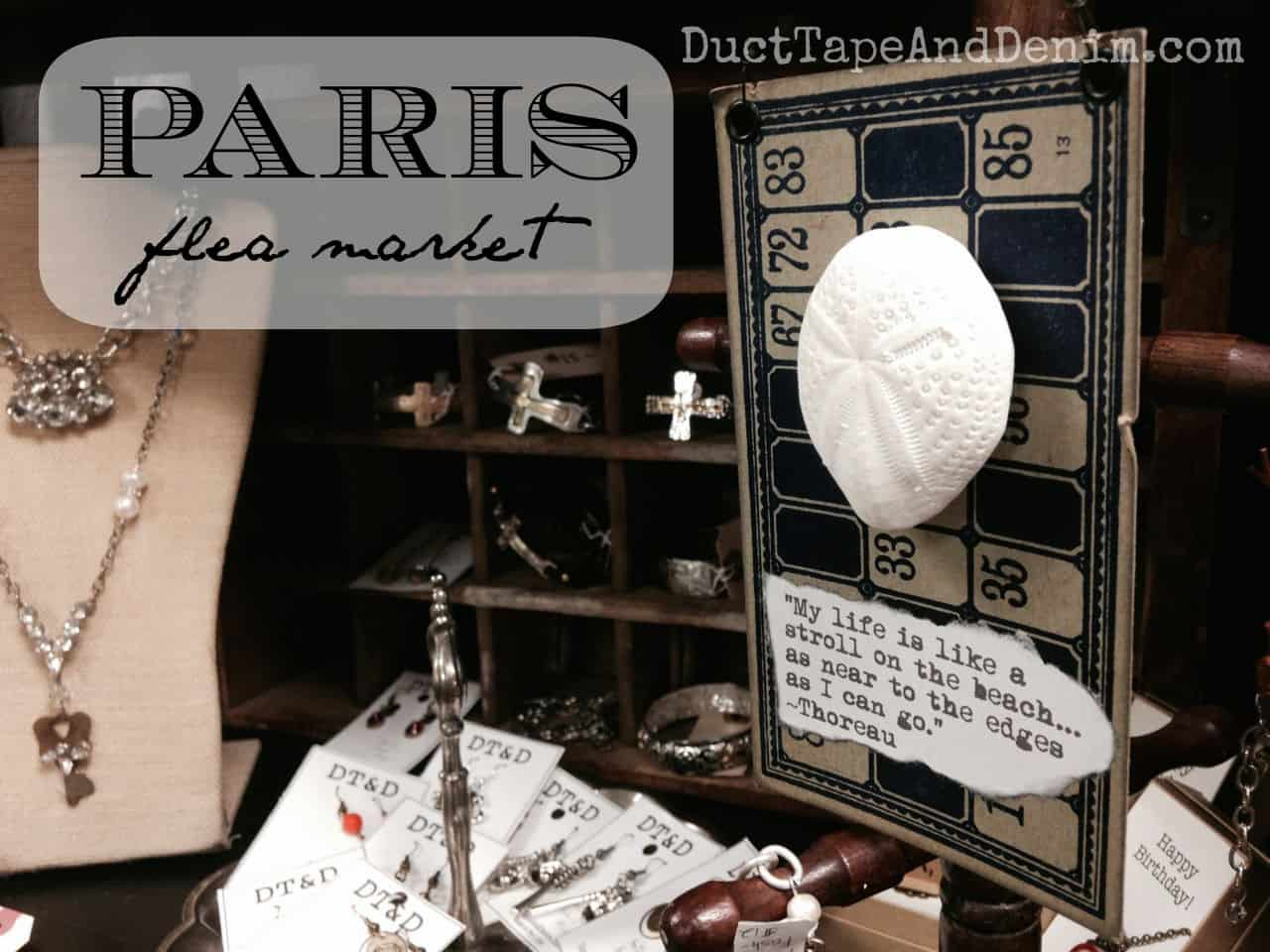 Paris Flea Market | July 2014