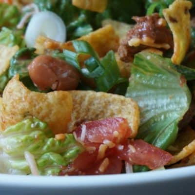 My Hubby's Favorite Frito Taco Salad Recipe