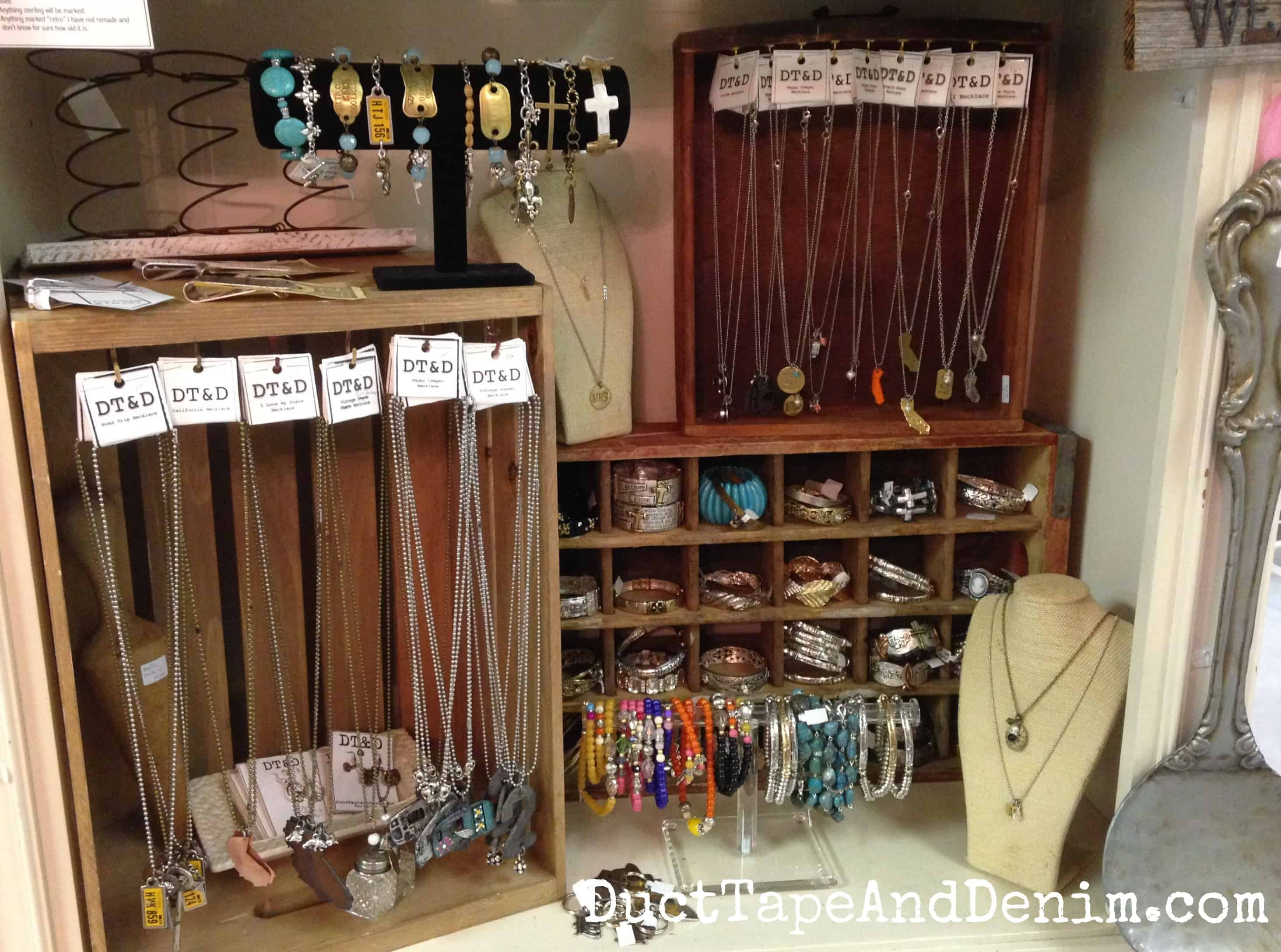 Room with a past august sale for Jewelry displays