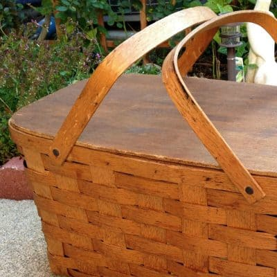 How to Paint a Picnic Basket