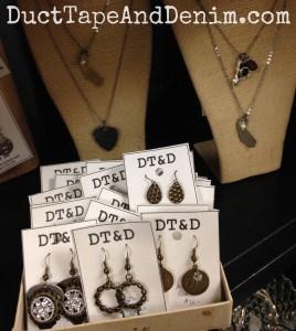 Another part of my flea market display that still needs some work! | DuctTapeAndDenim.com