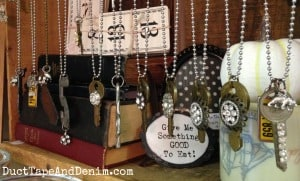 Necklaces at Room With a Past | DuctTapeAndDenim.com