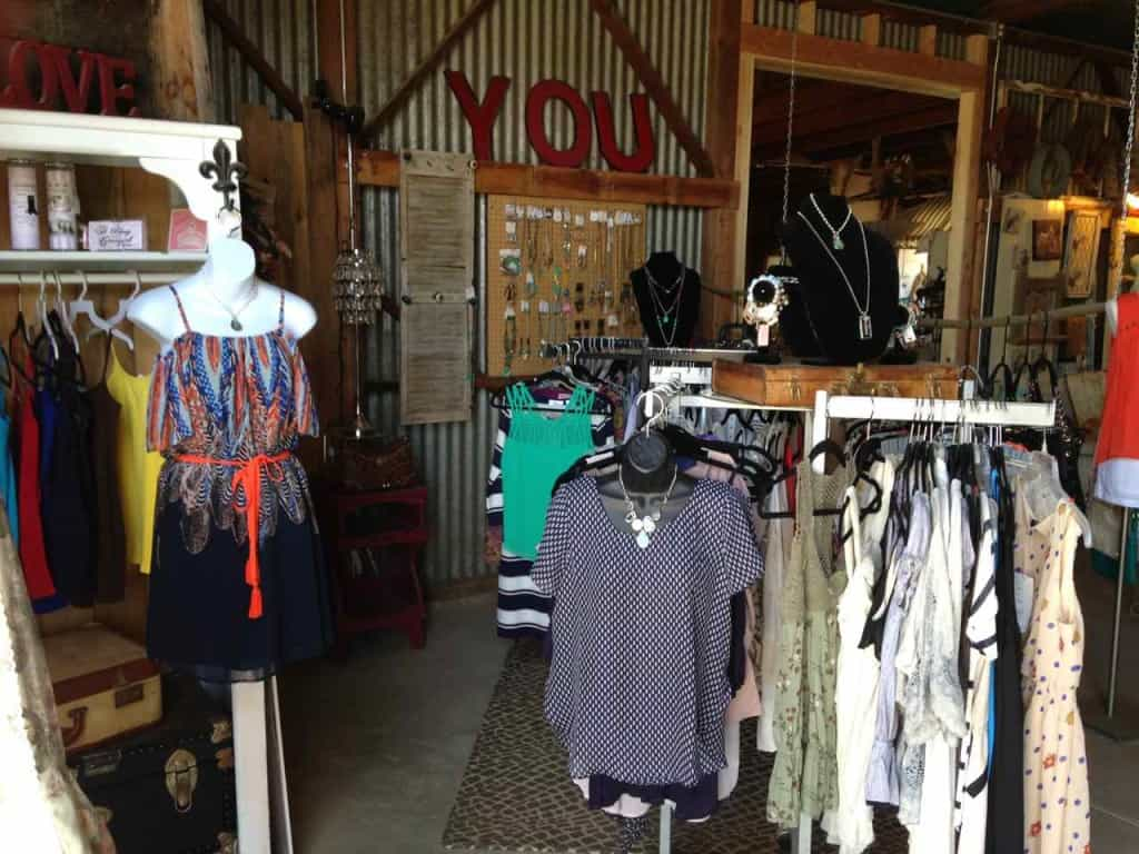 Almond Blossom Barn Boutique in Waterford, California | DuctTapeAndDenim.com