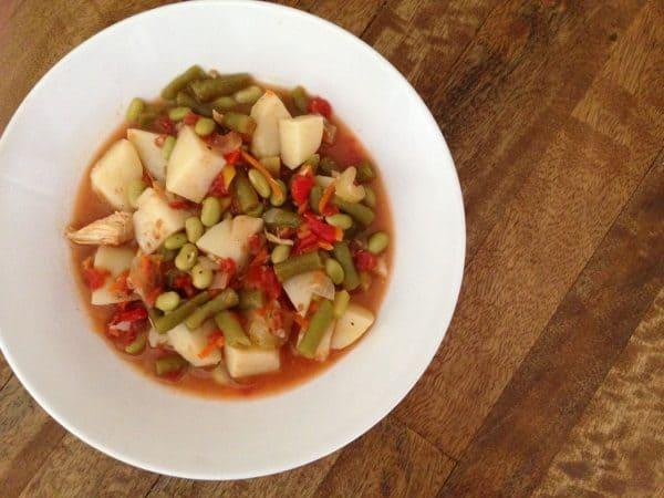 Big bowl of Diet Soup. Recipe on the blog. | DuctTapeAndDenim.com