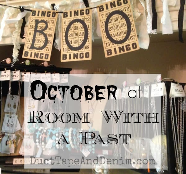 October at Room With a Past | DuctTapeAndDenim.com