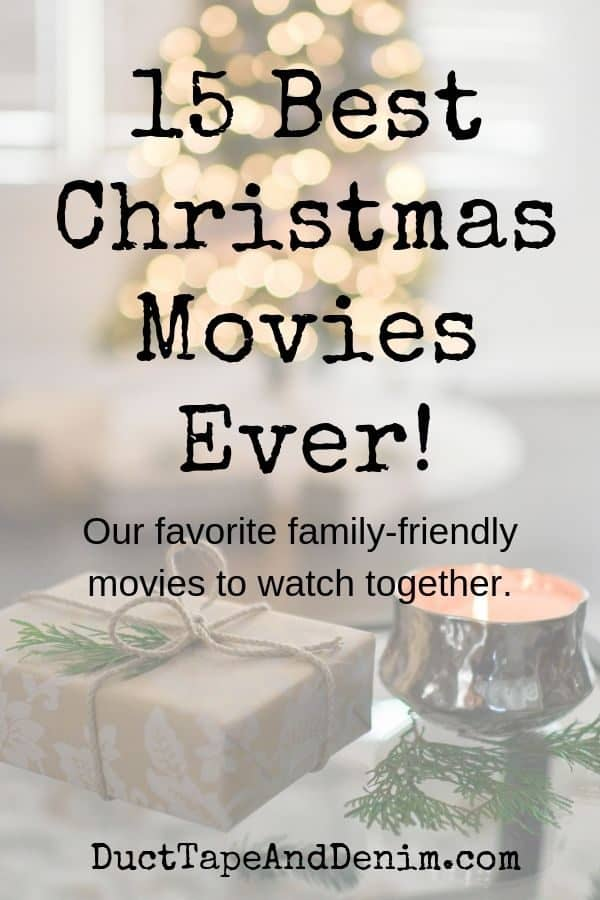 15 best christmas movies title block