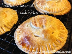 Salted Caramel Apple Hand Pie Recipe   DuctTapeAndDenim.com