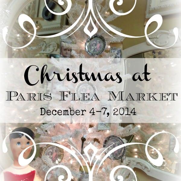 Christmas at Paris Flea Market | DuctTapeAndDenim.com