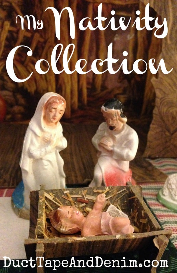 See my nativity scene collection at DuctTapeAndDenim.com