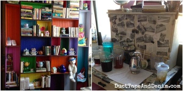 Back room at Storiebook Cafe in Glen Rose, Texas | DuctTapeAndDenim.com
