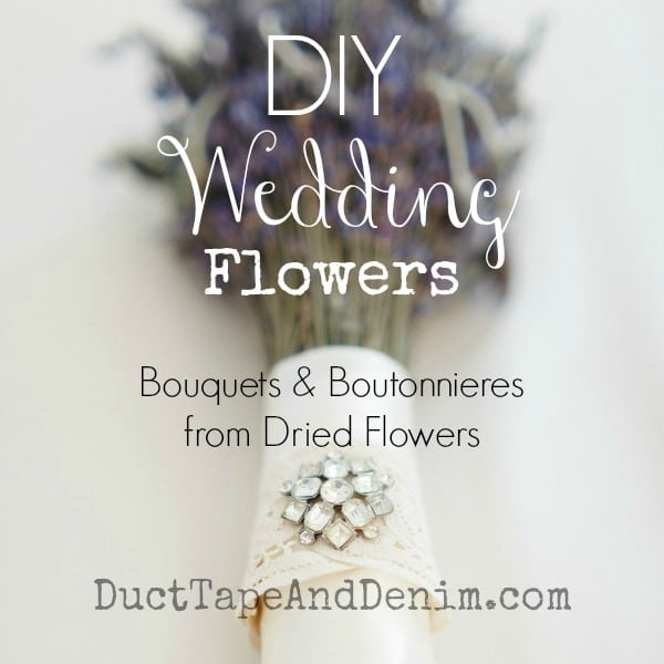 How to Make a Lavender Bridal Bouquet for a Rustic Outdoor Wedding