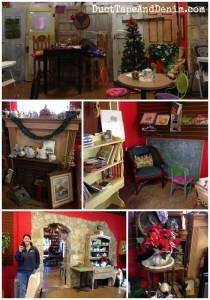 Storiebook Cafe in Glen Rose, Texas.  Full of books, antiques, and lots of other fun things. | DuctTapeAndDenim.com