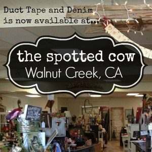 Duct Tape and Denim jewelry is now available at Spotted Cow Antiques Vintage Collectibles, Walnut Creek, California  SQ