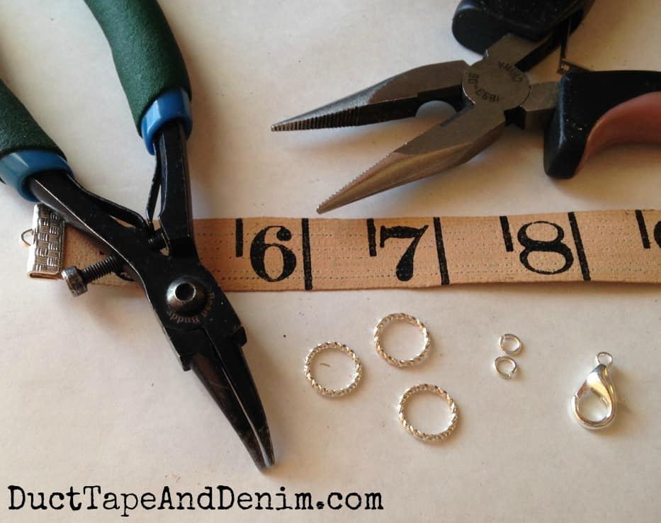 How to make tape measure bracelets | DuctTapeAndDenim.com