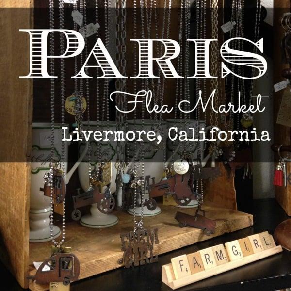 Paris Flea Market, Livermore, California, Bay Area vintage home decor market | DuctTapeAndDenim.com