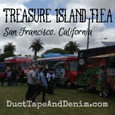 Treasure Island Flea Market video, San Francisco, California, March 2014 | DuctTapeAndDenim.com