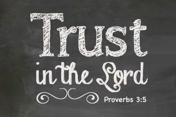 TRUST in the Lord 4x6